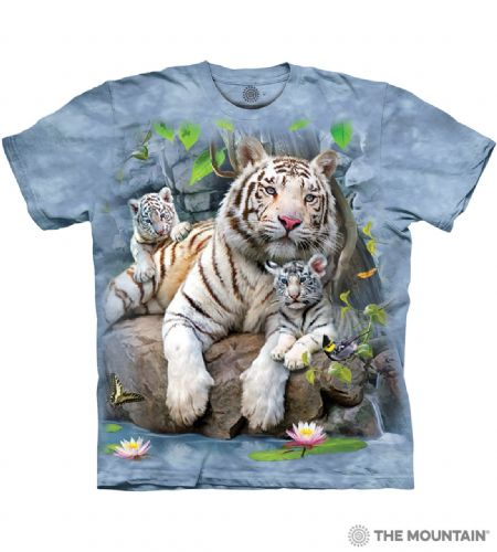 White Tigers of Bengal T-shirt | The Mountain®
